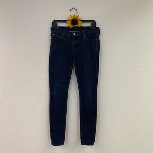 7 For All Mankind The Skinny Jegging Size 28
